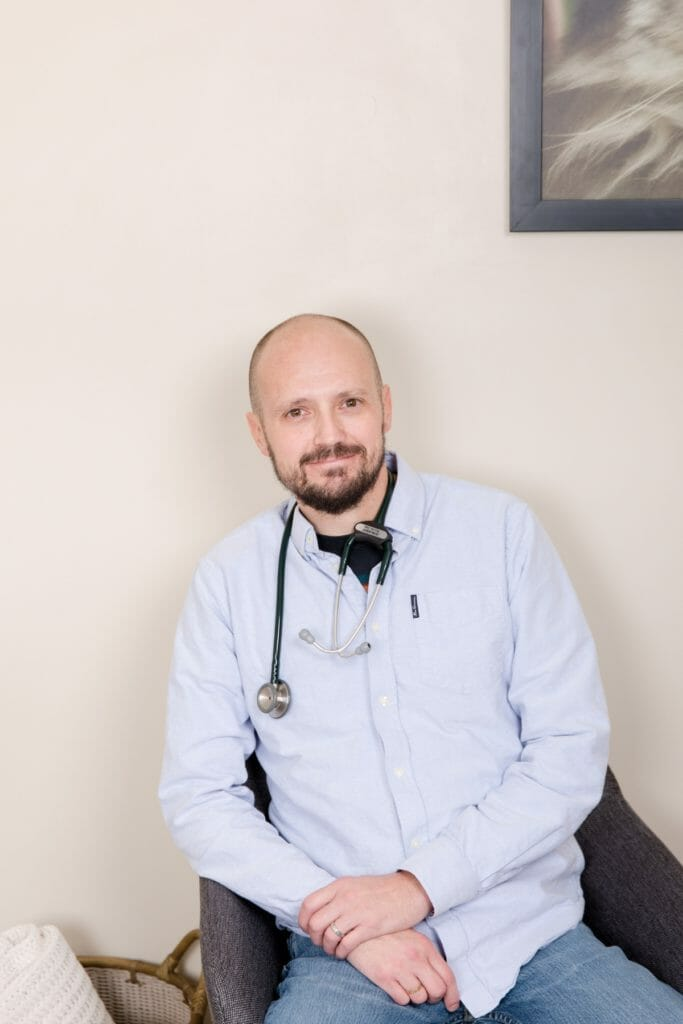 Managing partner of a veterinary clinic