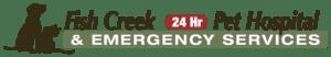 Logo of Fish Creek Pet Hospital in Calgary Alberta